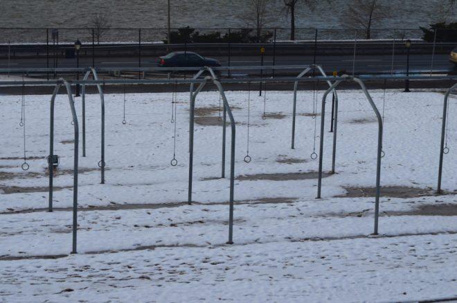 Gymnastic Rings in Riverside Park
