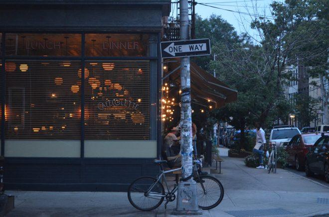 Cafe Colette in Williamsburg Brooklyn