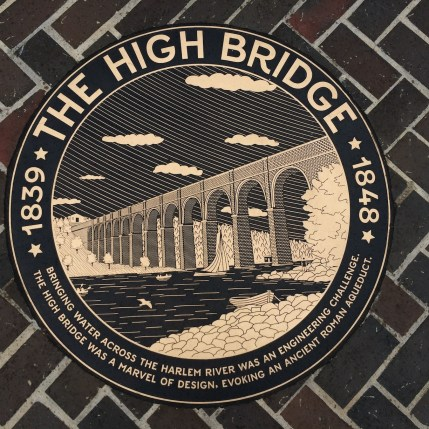 Bringing water across the Harlem River was an engineering challenge. The High Bridge was a marvel of design, evoking an ancient Roman aqueduct.