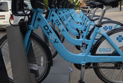 Divvy Bike in Chicago