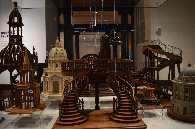 Model Staircases at the Cooper Hewitt Design Museum