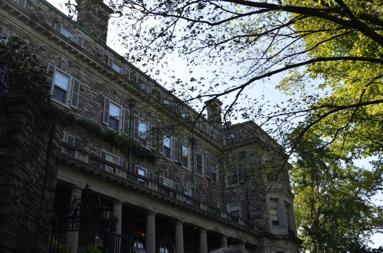 Side Profile of the Rockefeller Estate