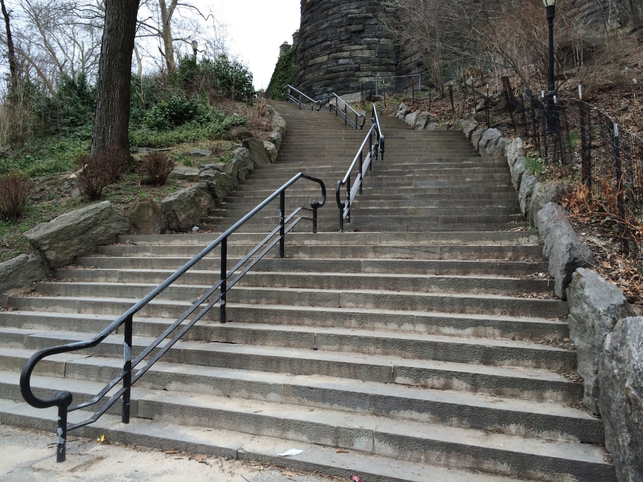 Morningside Park Stair Workout 11