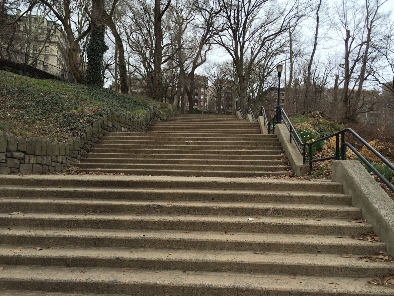 Morningside Park Stair Workout 18