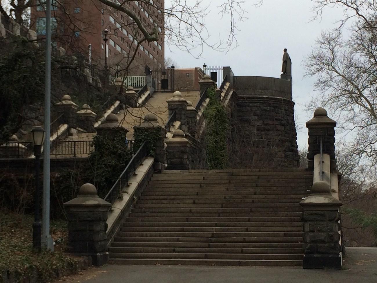 Morningside Park Stair Workout 20
