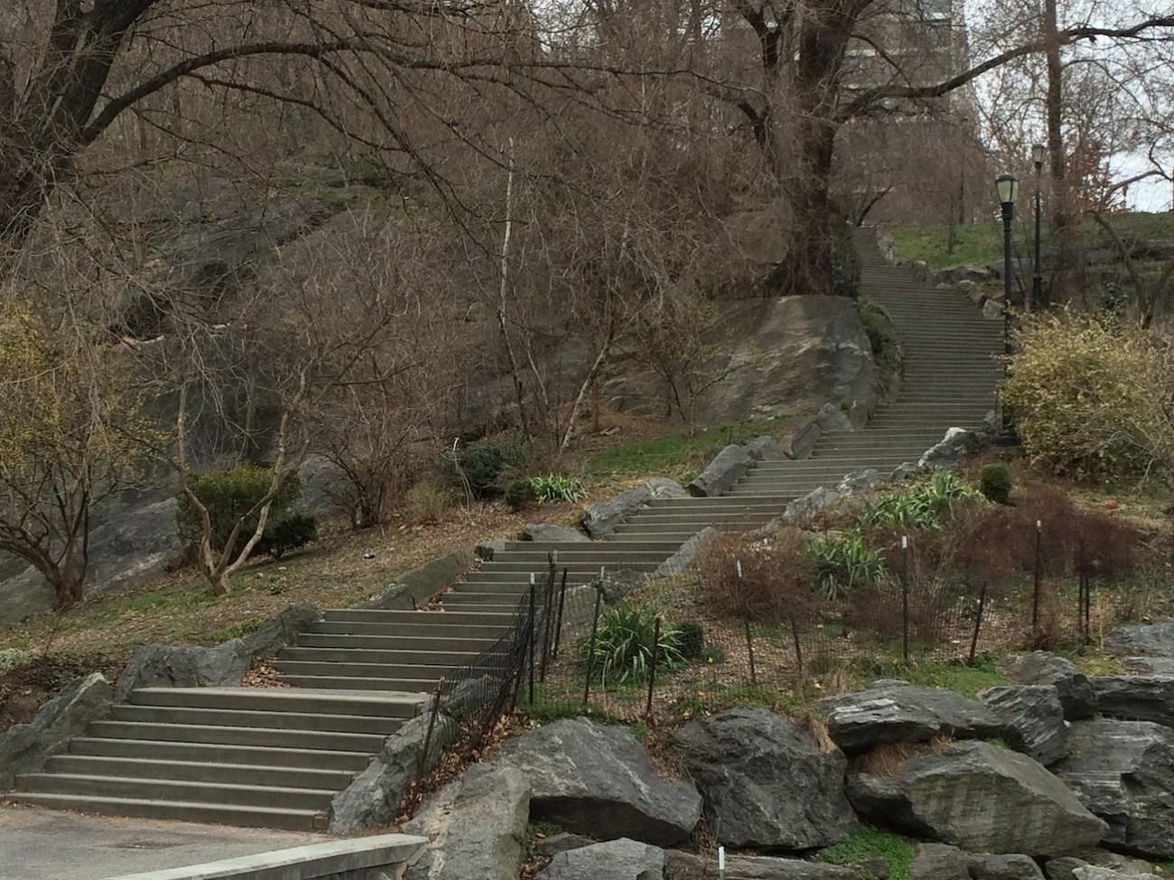 Morningside Park Stair Workout 22