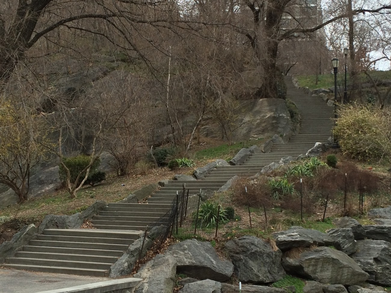 Morningside Park Stair Workout 22