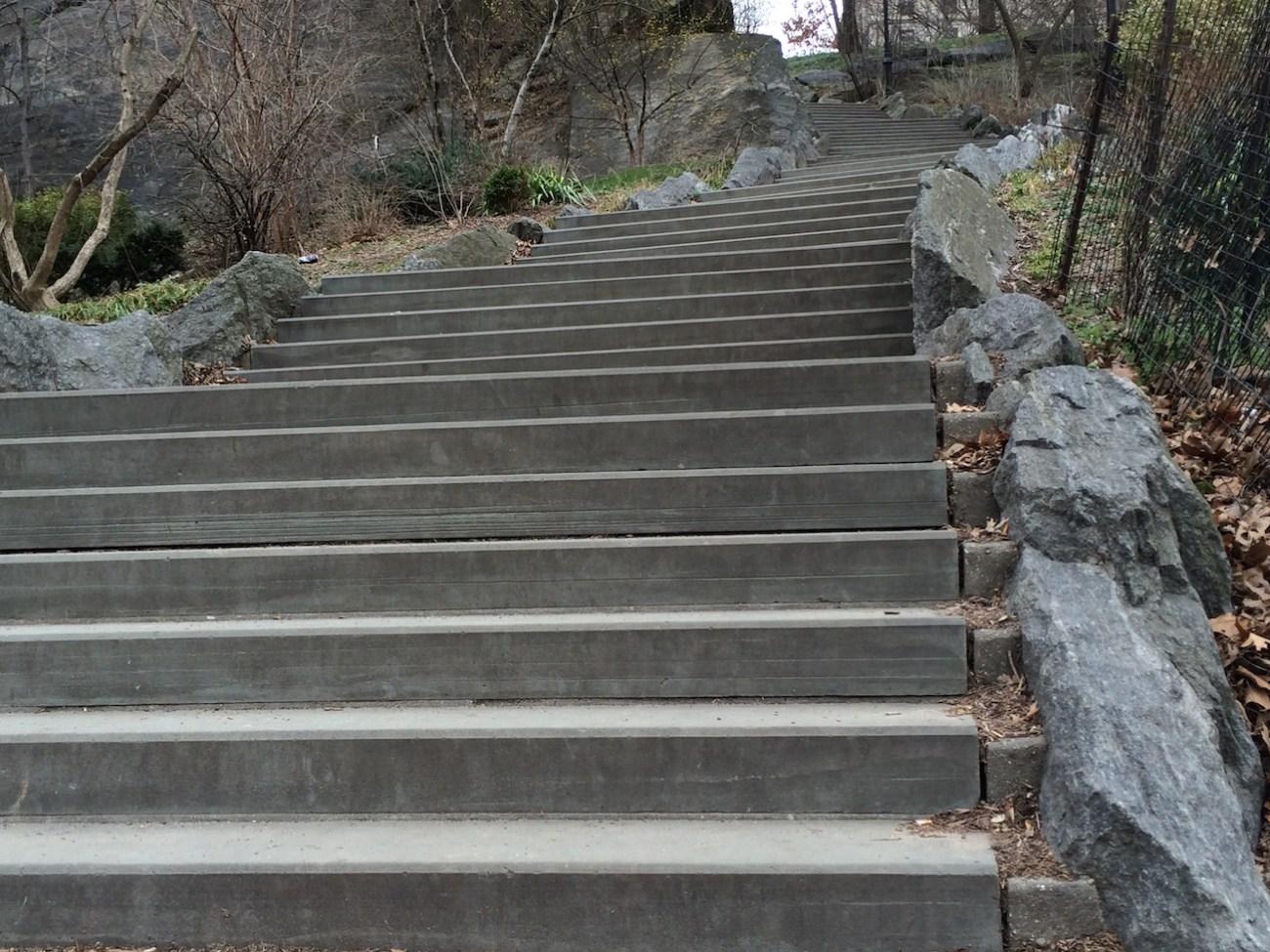Morningside Park Stair Workout 23