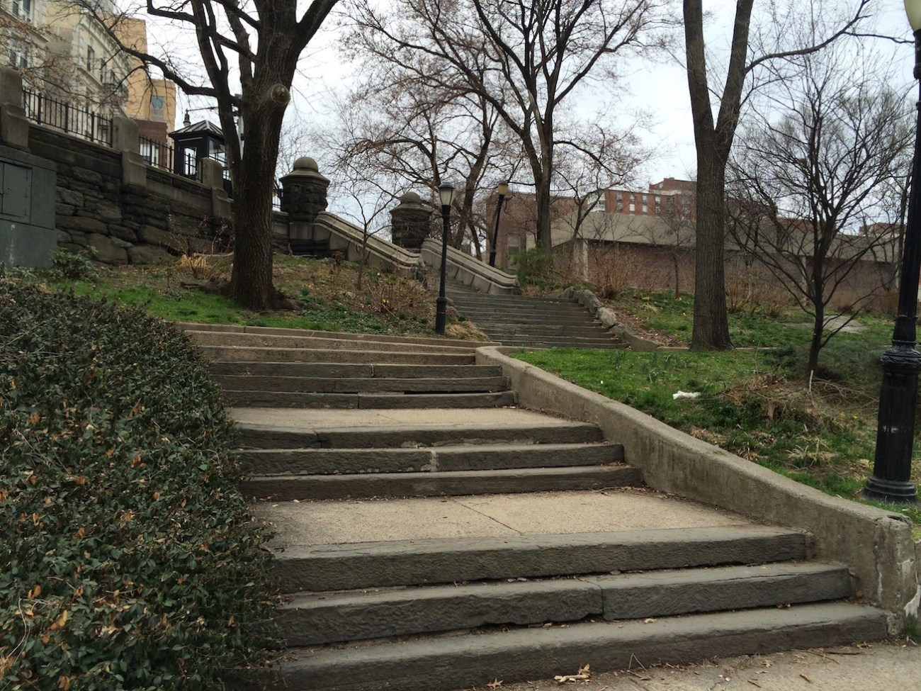 Morningside Park Stair Workout 24