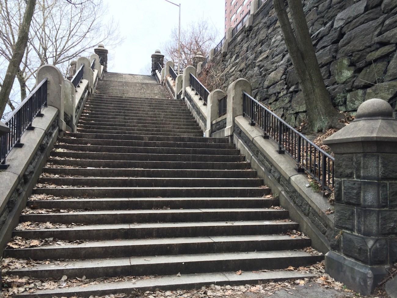Morningside Park Stair Workout 3