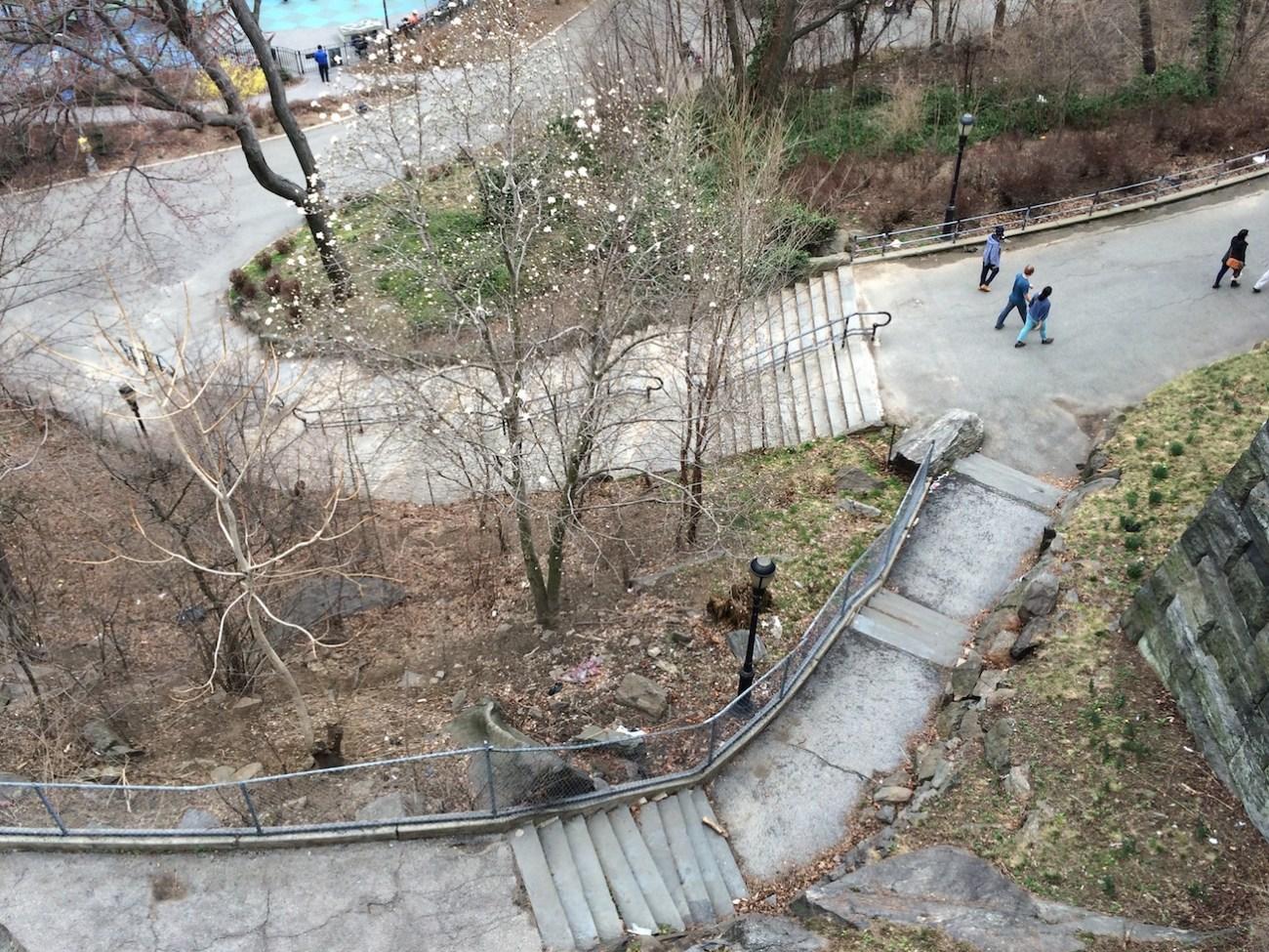Morningside Park Stair Workout 5