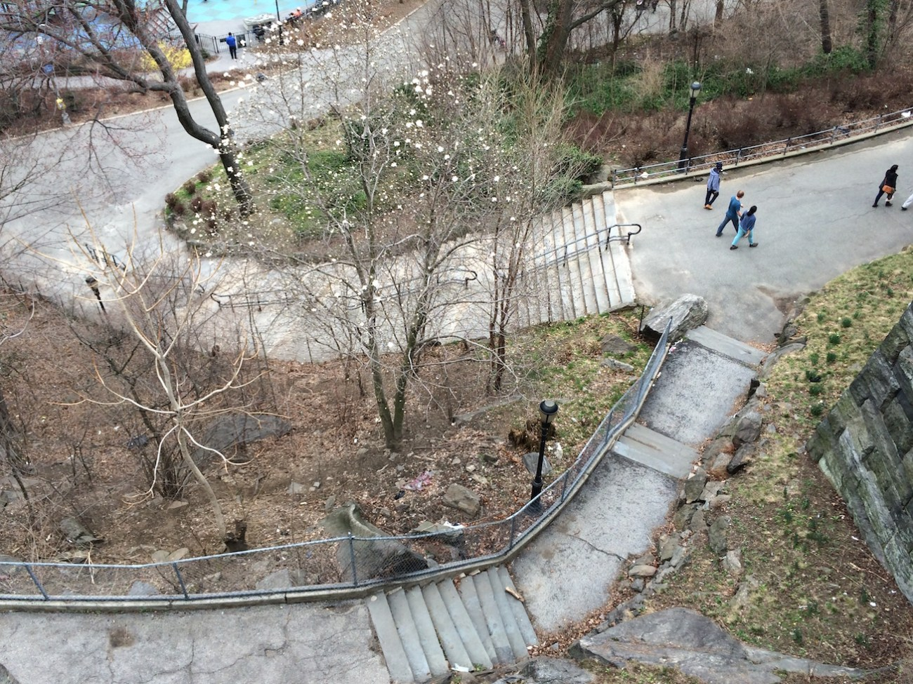 Morningside Park Stair Workout 5