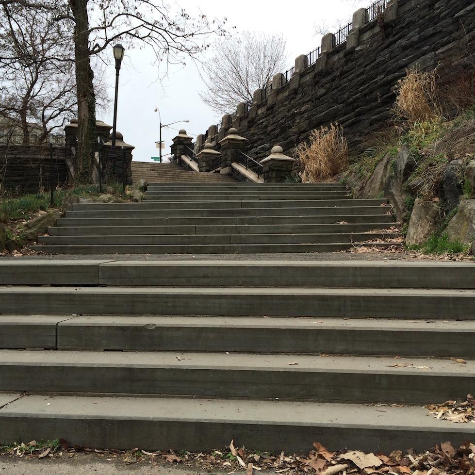 Morningside Park Stair Workout 6