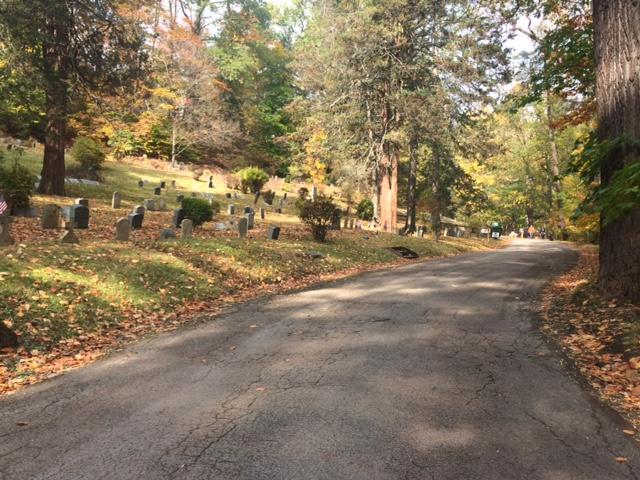 path-at-sleepy-hollow-cemetery