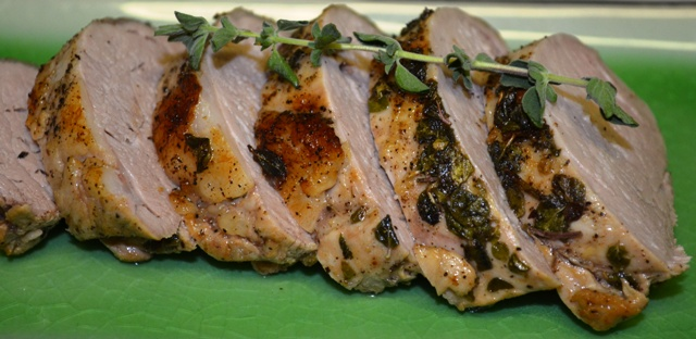 Citrus Oregano Pork Tenderloin