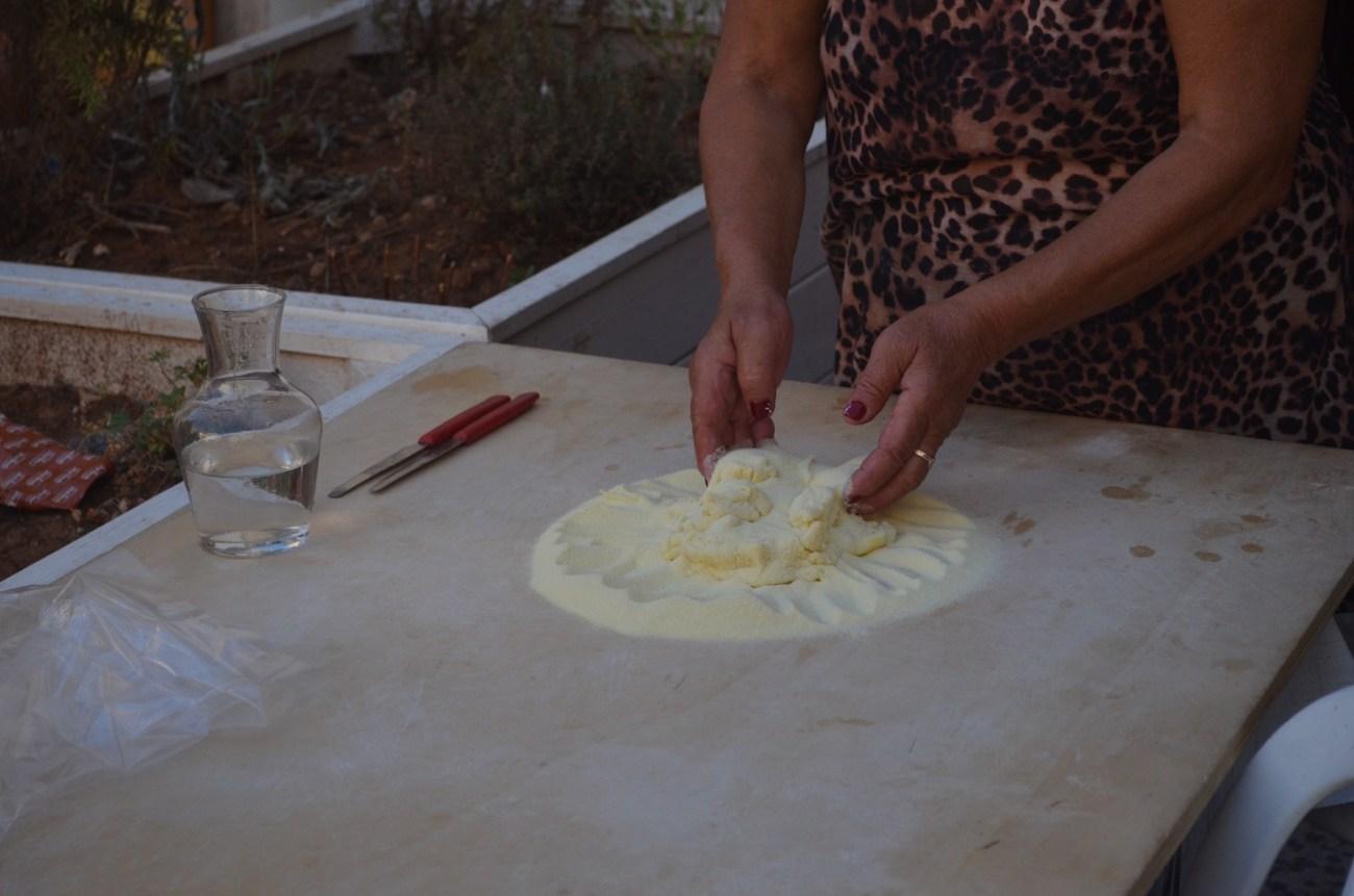 Homemade Orecchiette Pasta in Bari Italy