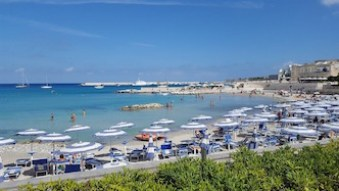 Otranto in Apulia Region of Italy