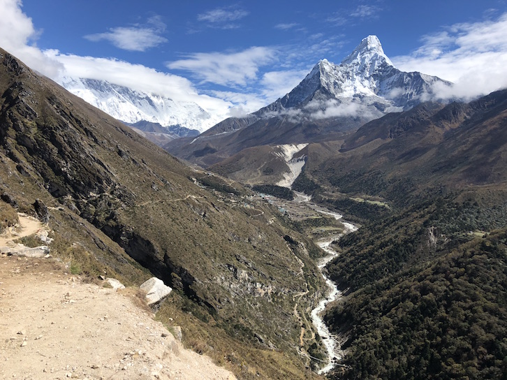Deep Valley in Nepal