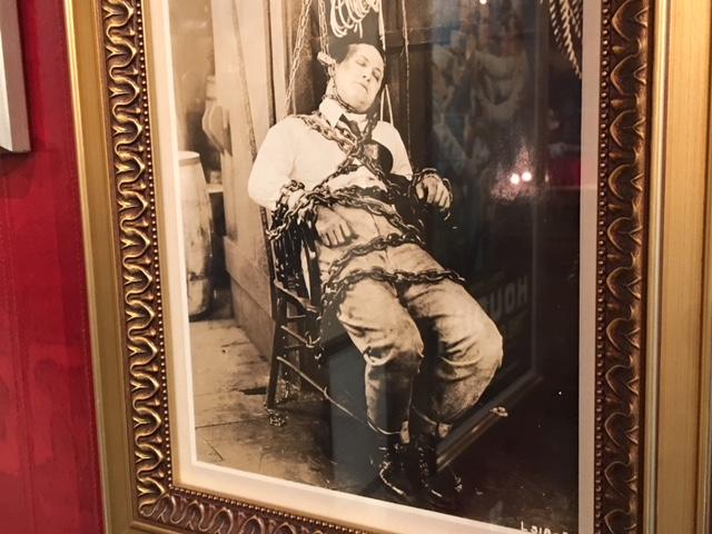 Houdini Museum Escape Artist