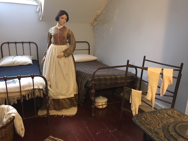Servants Quarters at Merchant's House in New York City