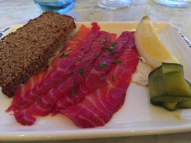 Irish Salmon Gravlax