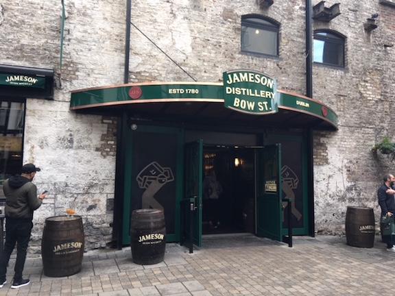 Jameson Distillery on Bow Street in Dublin Ireland
