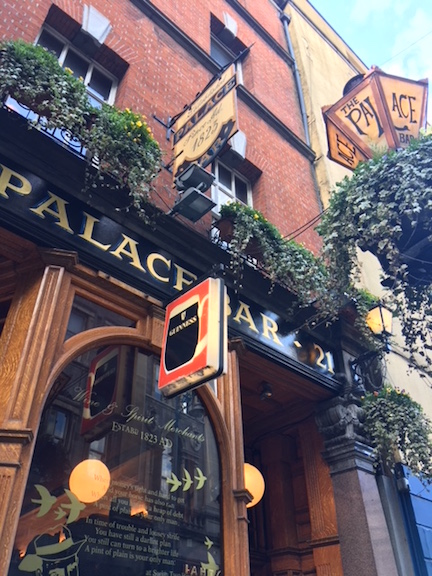 Old Pub in Dublin
