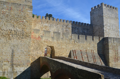Castle Entrance in Lisbon
