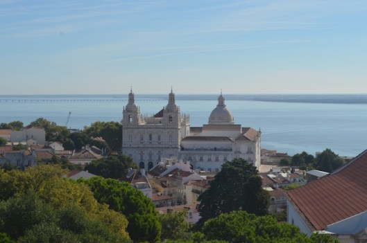 Church and Water View in Lisbon