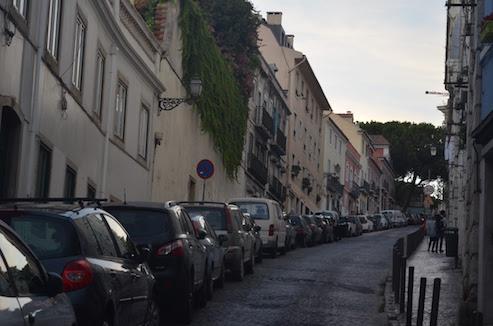 Hills in Lisbon