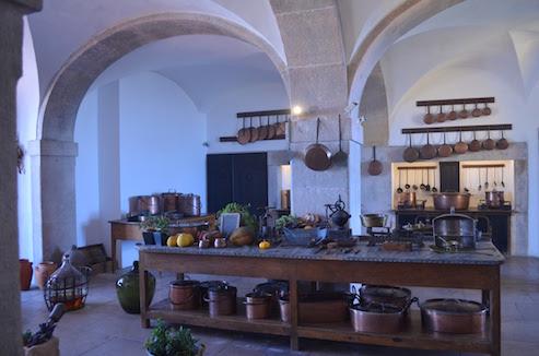 Kitchen at Pina Palace