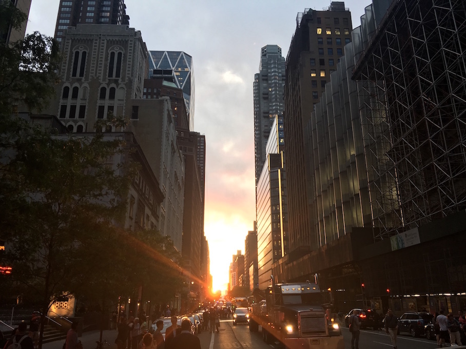 Manhattanhenge May 2018