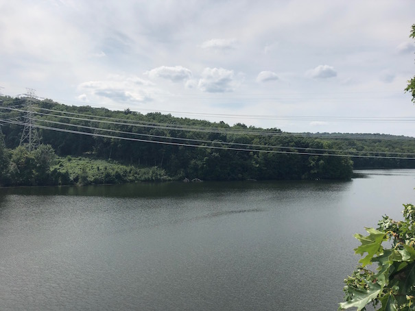 Croton Reservoir on North County Trailway