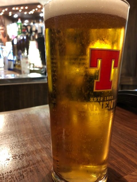 Tennents Beer in Scotland