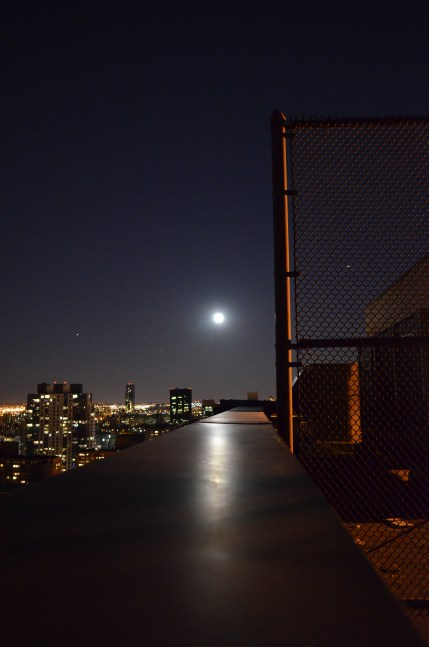 Full Moon Over Manhattan