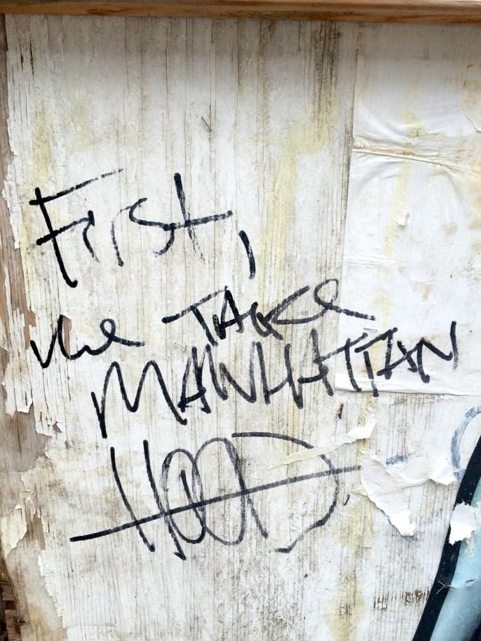 First, we take Manhattan