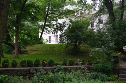 Exterior View of the Morris Jumel Mansion