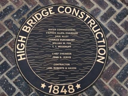 High Bridge Construction