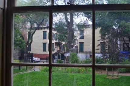 Morris-Jumel Mansion Looking at Sylvan Terrace and Jumel Terrace