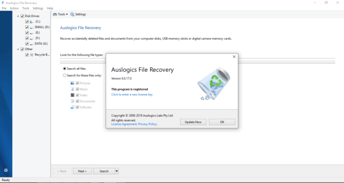 Auslogics File Recovery 8.0.21.0 Crack Serial Key