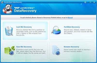 Wondershare Data Recovery 7.0.0 Crack Activation Key Full Version