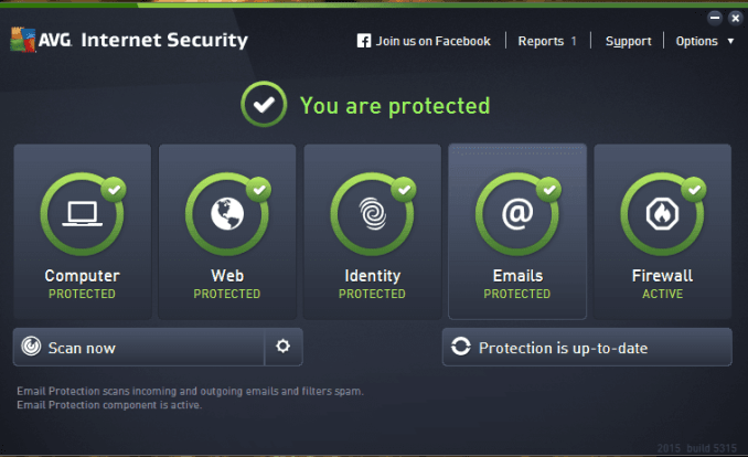 AVG Internet Security 2019 19.3 Build 3084 Crack With Serial Key