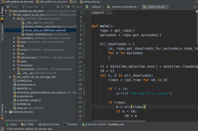 PyCharm Professional 2019.1 Crack With License Key Free Download