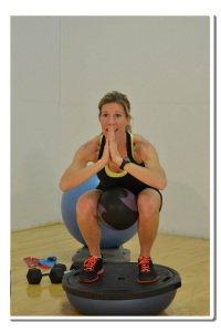 balance exercises core