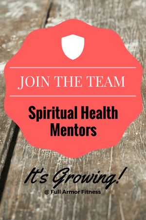 join the team - spiritual health mentors