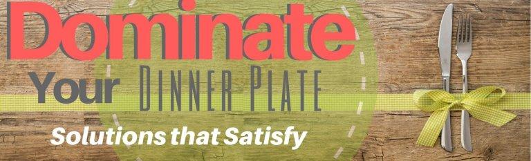 Dominate dinner plate header