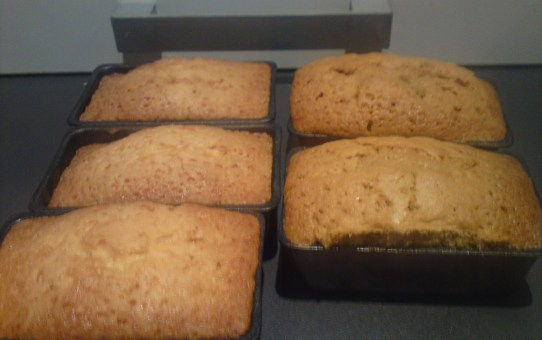 Gluten free loaf cakes