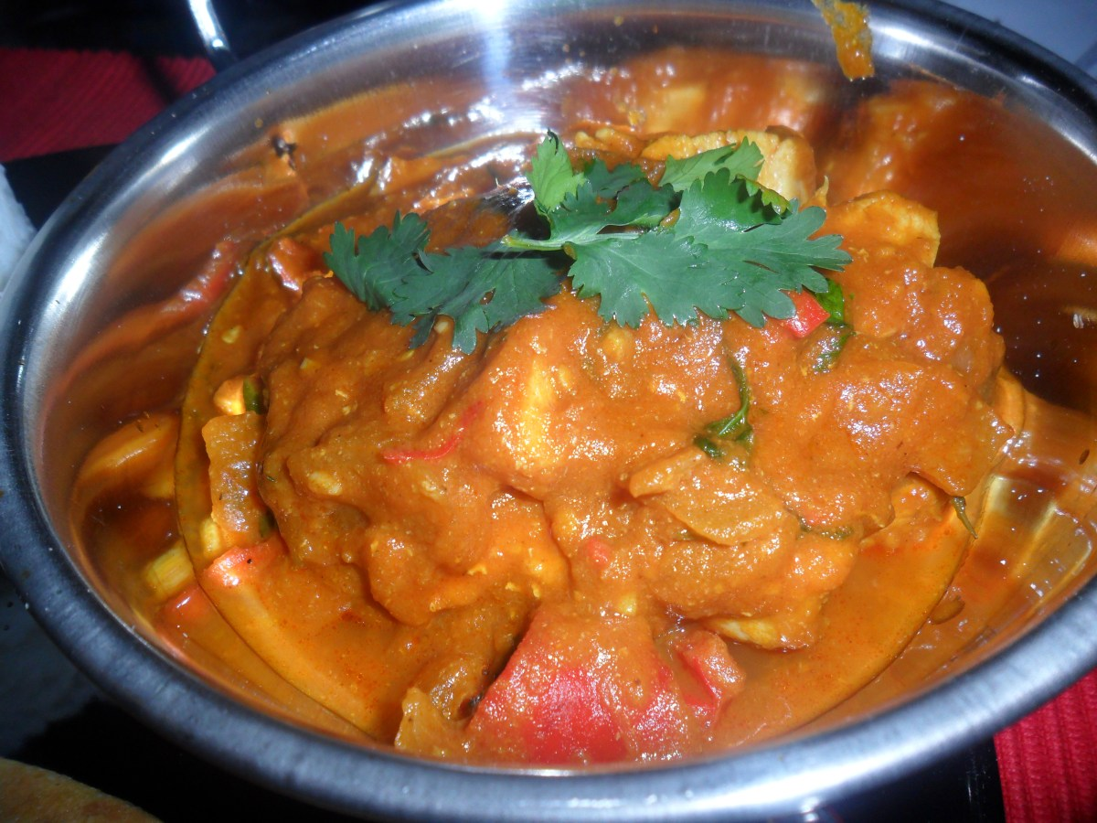 Make your own takeaway: Chicken Jalfrezi