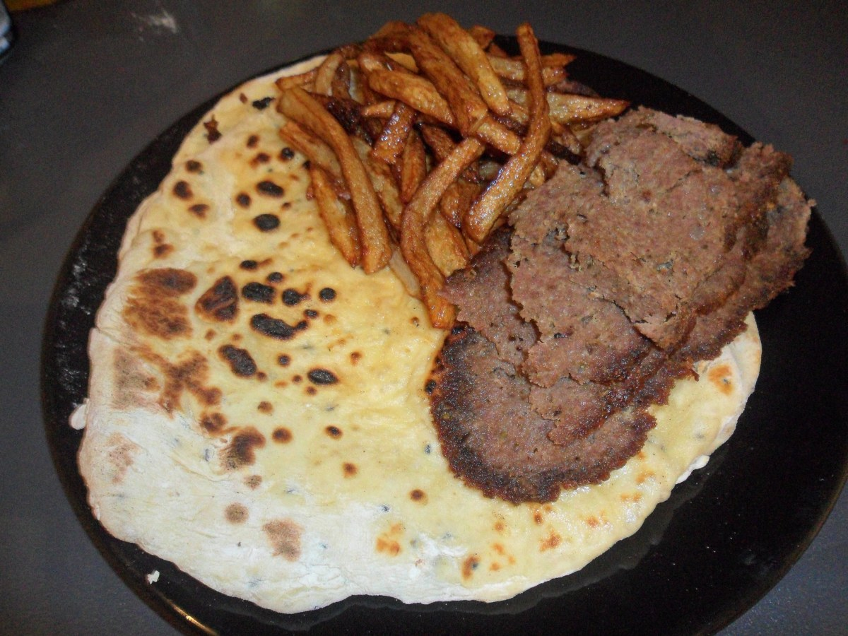 Make your own takeaway: Donner Kebab