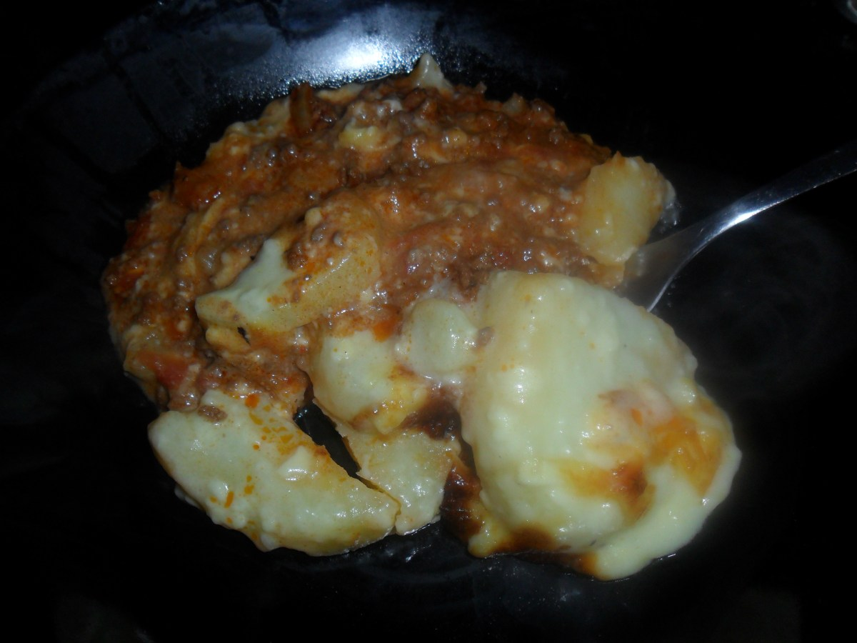Cheesy Mince